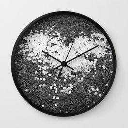 heart of ice (cubes) Wall Clock