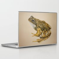 frog Laptop & iPad Skins featuring  frog by Diane Nicholson
