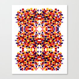 art smears Canvas Print