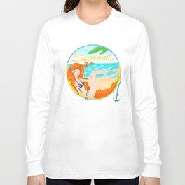 Summer Readhead Long Sleeve T-shirt