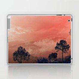 Himalayas Under a Pink Sky Laptop & iPad Skin