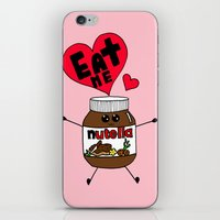 nutella iPhone & iPod Skins featuring Nutella by Aurelie