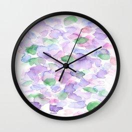 150725 My Happy Bubbles 35 Wall Clock