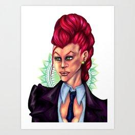 C. Viper Art Print