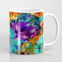 Colored Daisies Coffee Mug