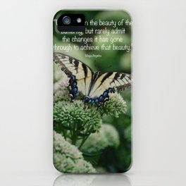 We delight in the beauty of the butterfly.... iPhone Case
