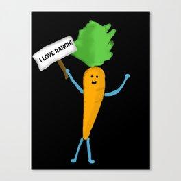 Carrot Canvas Print