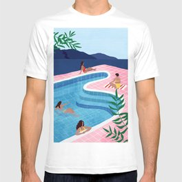 Pool ladies T-shirt