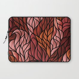 Society6 Foxy Orange Background Laptop Sleeve