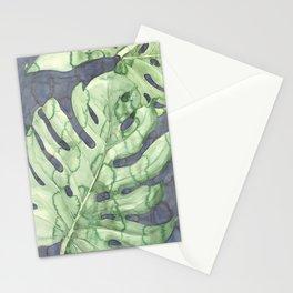 Deliciosa monstera Stationery Cards