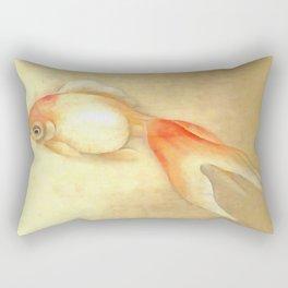 Japanese Goldfish Rectangular Pillow