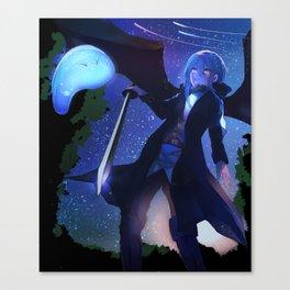 Tensei Shitara Slime Datta Ken Rimuru Canvas Print
