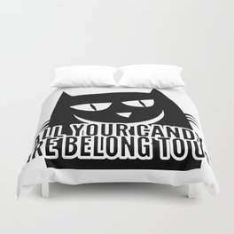 All Your Candy Are Belong To Us Duvet Cover