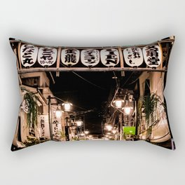 Asakusa Evening Rectangular Pillow