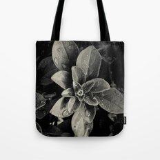 Rainy Leaves  Tote Bag