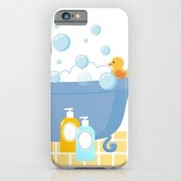 Bubble Bath Tub iPhone Case