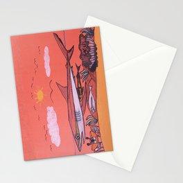 Galopagos Shark & Friends Stationery Cards