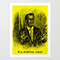 better call saul Art Prints featuring Better Call Saul by Kay Bee