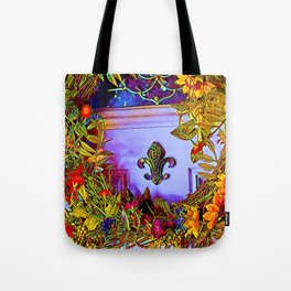 Fall Front wreath Tote Bag