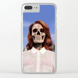 Bones To Die Clear iPhone Case