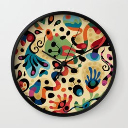 Wobbly Life Wall Clock