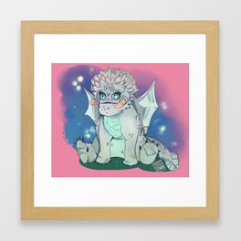 Baby bewilderbeast Framed Art Print