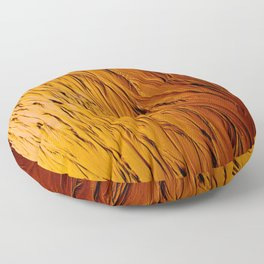 Liquid Gold Floor Pillow