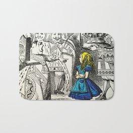 Blonde Girl Called Alice Bath Mat