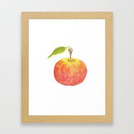 The Perfect Apple Framed Art Print
