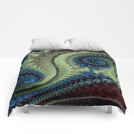 Fractal Abstract 87 Comforters