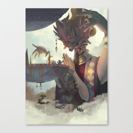 The Dreamteller of Mirages Canvas Print