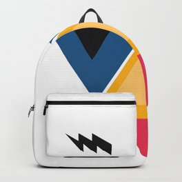 colorful man Backpack