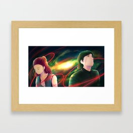what about us? Framed Art Print