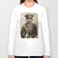 general Long Sleeve T-shirts featuring The general by Seamless