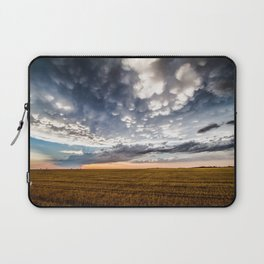After the Storm - Spacious Sky Over Field in West Texas Laptop Sleeve