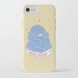 Hugging monster iPhone Case