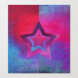 Suprematist Star V Canvas Print