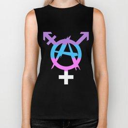 Trans Anarchy Biker Tank