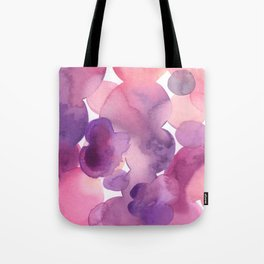 Balloon party: Abstract watercolor flow Tote Bag