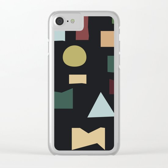 The Pattern Gets Worse III Clear iPhone Case