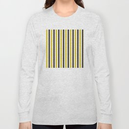 Geometric Pattern #189 (mustard) Long Sleeve T-shirt