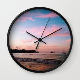 Municipal Beach Wall Clock