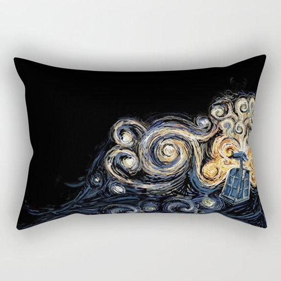 Doctor Who Van Gough Rectangular Pillow