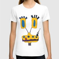 yellow submarine T-shirts featuring yellow submarine giraffe by JBLITTLEMONSTERS