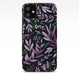 Eucalyptus Violet iPhone Case