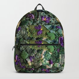 Violets in my head Backpack