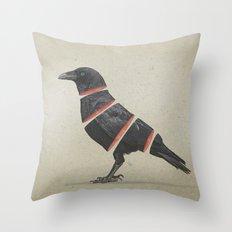 Raven Maker Throw Pillow