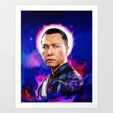 Donnie Yen Art Print