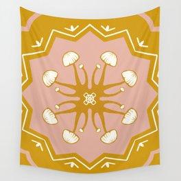 Mushie Mandala Wall Tapestry