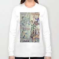 cooking Long Sleeve T-shirts featuring COOKING by Gabriella Vaghini